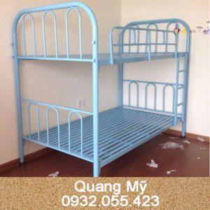 Giường tầng sắt giá rẻ 1m2 x 2m