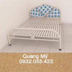 Giường sắt giá rẻ rộng 1m6 x 2m