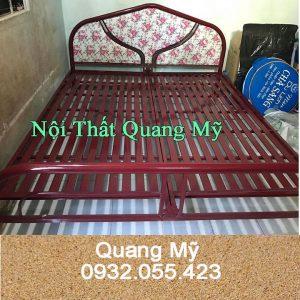 Giường sắt giá rẻ rộng 1m8 x 2m