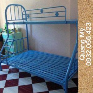 Giường tầng sắt giá rẻ 1m-1m6-2m