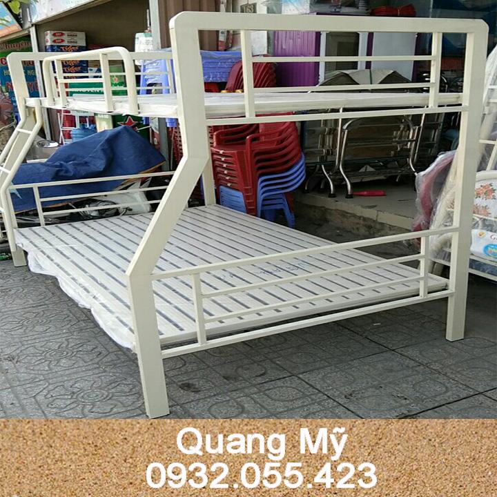 Giường tầng sắt trẻ em cao cấp