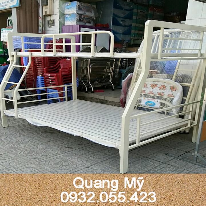 giường tầng sắt dành cho trẻ em