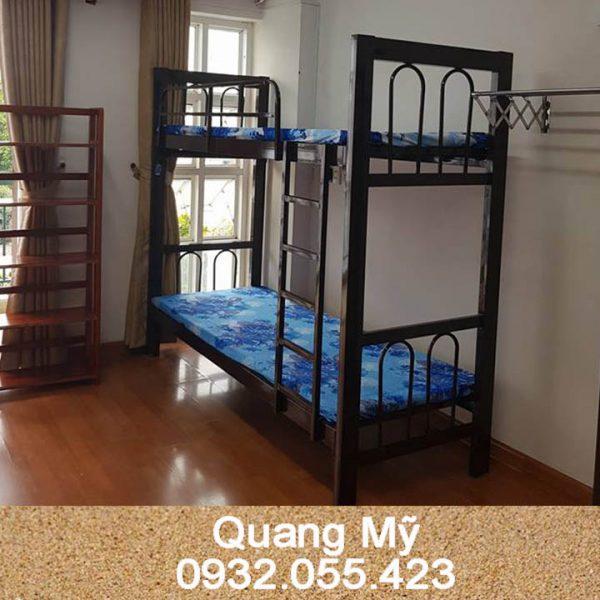 Giường 2 tầng hộp vuông 0m8 x 2m