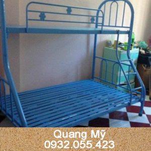 Giường 2 tầng lệch 1m2 x 1m4 x 2m