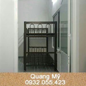 Giường 2 tầng sắt 1m4 x 2m