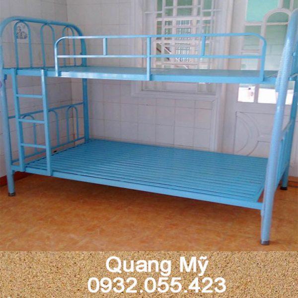 Giường 2 tầng sắt giá rẻ 1m4 x 2m