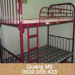 Giường 2 tầng sắt giá rẻ 1m x 2m