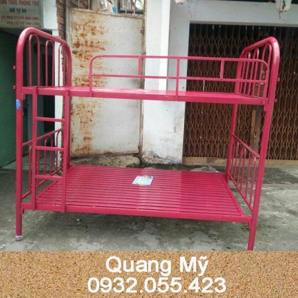 Giường 2 tầng sắt giá rẻ 1m2 x 2m