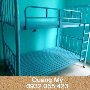 Giường 2 tầng sắt giá rẻ 1m6 x 2m