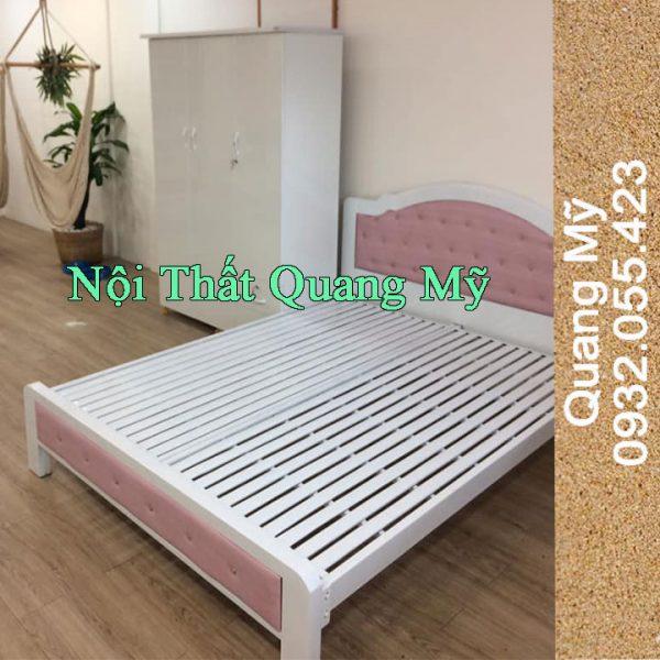 Giường Sắt Cao Cấp 1m4 x 2m giá rẻ HCM