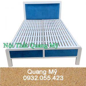 Giường Sắt Hộp Cao Cấp 1m2 x 2m giá rẻ HCM