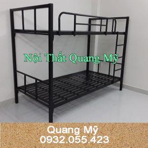 Giường tầng sắt hộp giá rẻ 1mx2m